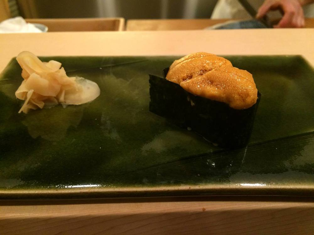 This piece of uni was so delightful that it just melted in our mouths!
