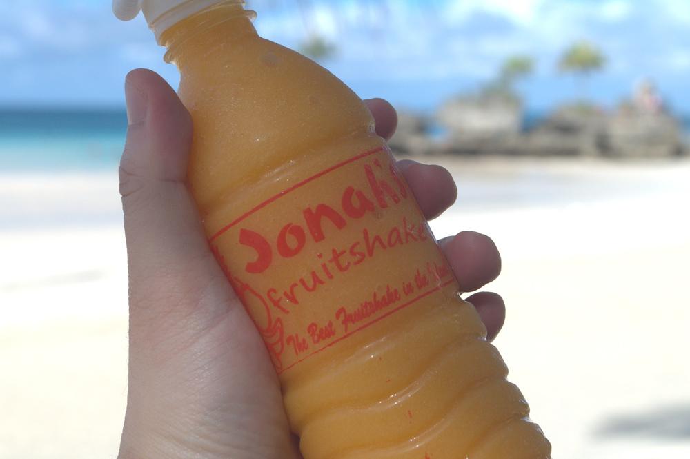 Jonah's Philippine mango rhum shake - still most awesome!