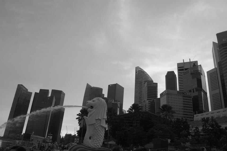 Singapore's iconic Merlion.