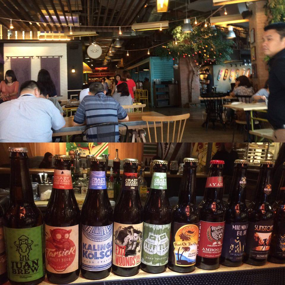 Philippine Draft Beers at Hole In The Wall.