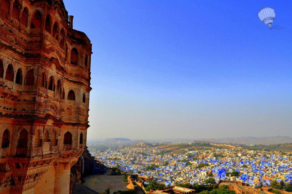 Jodhpur India Dark Knight Rises