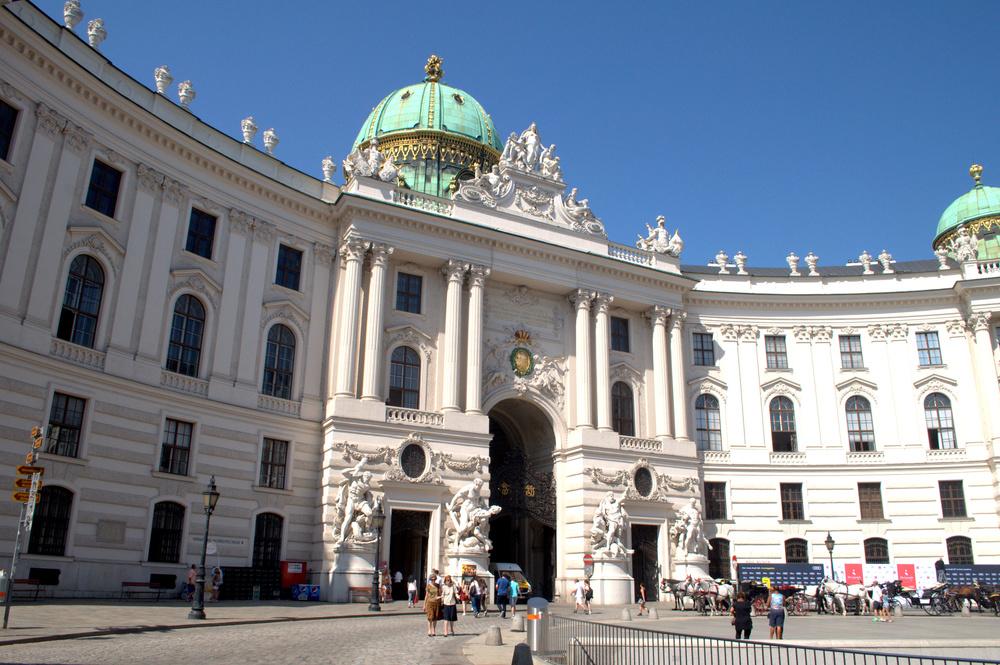 Hofburg Palace.
