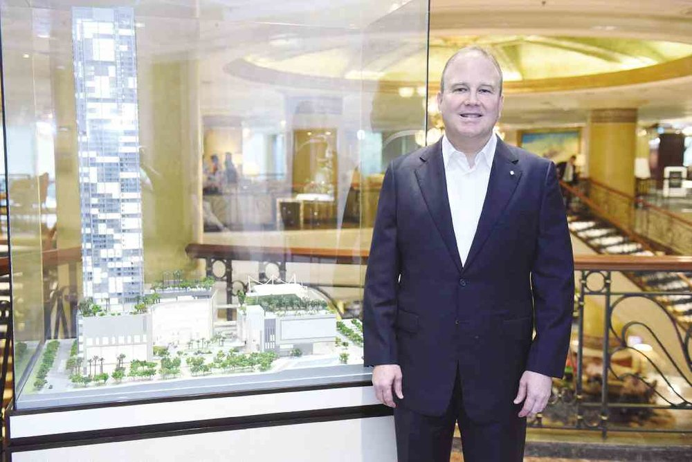 Shangri-La at The Fort General Manager, John Rice. (Photo: Inquirer)
