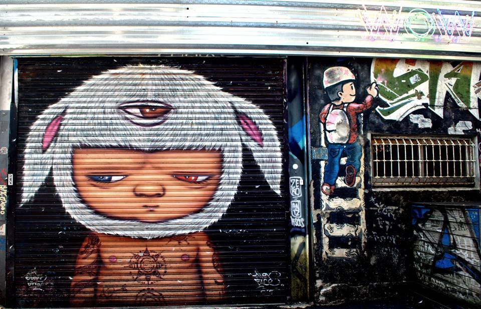 Taipei Street Art at XImending.