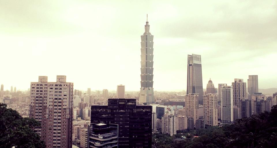 Taipei 101 from Elephant Mountain.