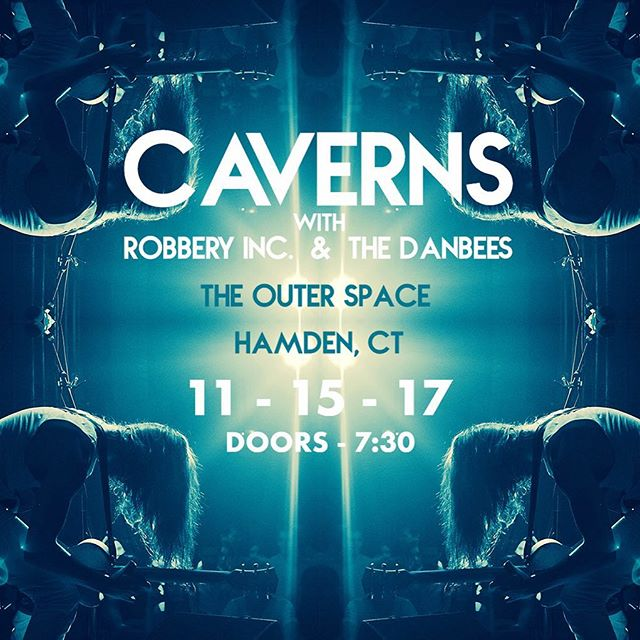 CONNECTICUT! We're coming for you 9PM tonight at @theouterspacect ! 🔥🔥🔥🔥🔥#HamdenFamden . . . . .  #caverns #band #nyc #music #raw #psychedelic #rock #future #space #jams #connecticut #hamden #hamdenct #localmusic #newhaven #newhavenct #live #heavy #trippy #prog #pop #guitar #synth #drums