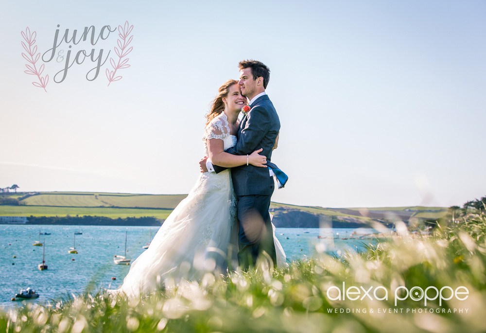 REAL WEDDING FEATURE // OLIVIA & JONATHAN Olivia and Jonathan's colourful cornish coastal wedding featured on Juno&Joy. Their wedding planning was inspired by their immediate breathtaking surroundings of Rock in Cornwall. Filled with colour and DIY details their wedding is a showcase of beach bridal pretty...Read more about their wedding inspiration on Juno&Joy.