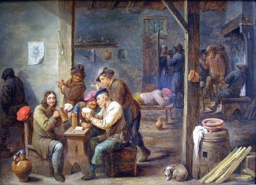 David Teniers II's 1658 Tavern Scene