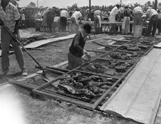 Circa 1940s Barbecue Scene (Courtesy of State Archives of Florida, Florida Memory)