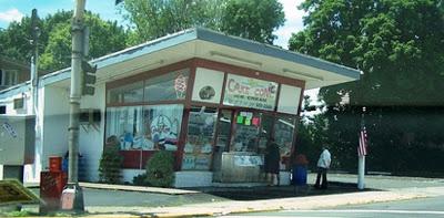 Carvel ice cream stand,