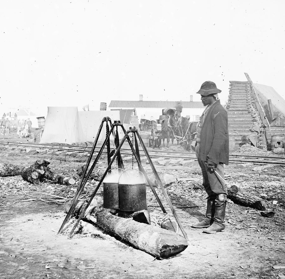 Civil War Cook, Courtesy of the Library of Congress