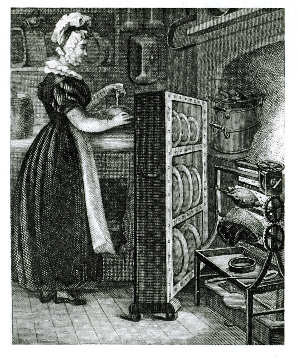Cooking in Nineteenth Century America, Image origin unknown