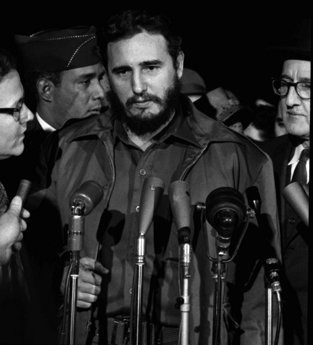 Fidel Castro, 1959, Courtesy of the Library of Congress