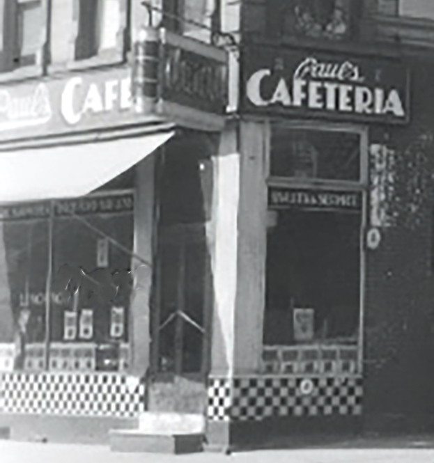 Paul's Cafeteria, Lexington Av and East 28th Street, Manhattan, Courtesy of Irma and Paul Milstein Division of United States History, Local History and Genealogy, The New York Public Library