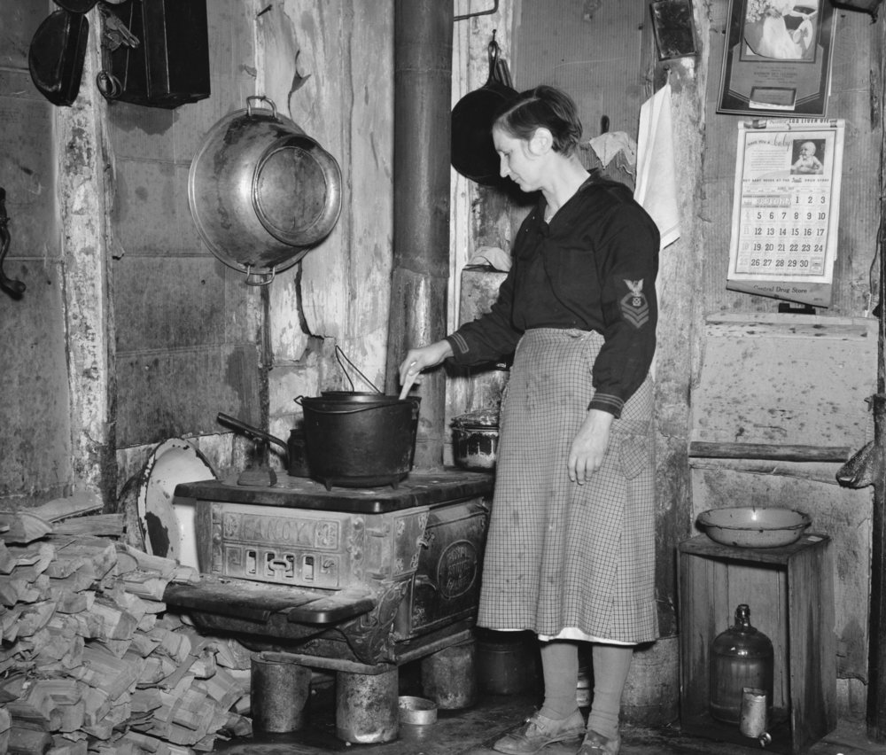 Making Soup, 1937, Courtesy of the Library of Congress