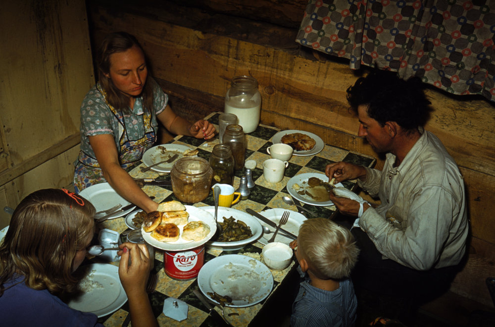 Family Meal, 1940, Courtesy of the Library of Congress