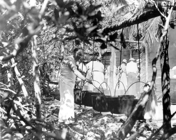 Cooking Chowder in 1934,Courtesy of State Archives of Florida, Florida Memory Project