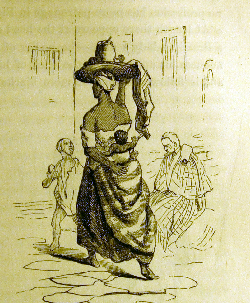 Sketch of a Dulcera, Courtesy of James C. Fletcher and D. P. Kidder,  Brazil and the Brazilians Portrayed in Historical and Descriptive Sketches  (Boston: Little Brown, and Company: London: Sampson, Low, Son, & Co, 1866)