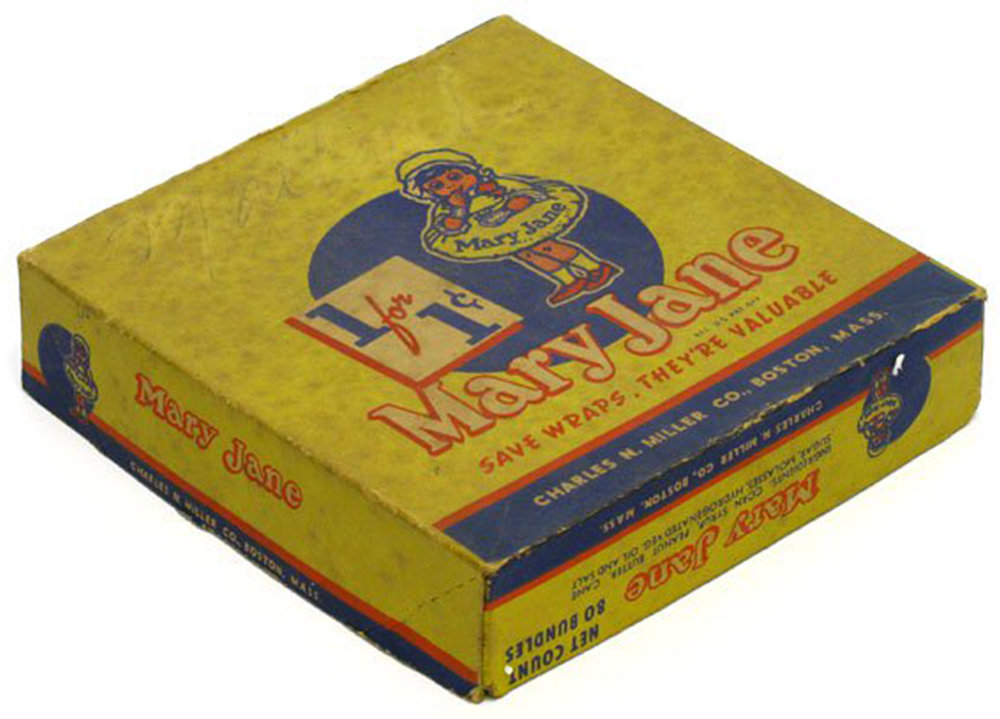 Mary Jane Candy made with almonds and molasses, Courtesy of old-time candy.com
