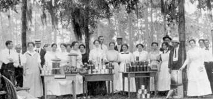 1912 Canning School, Courtesy of State Archives of Florida, Florida Memory Project