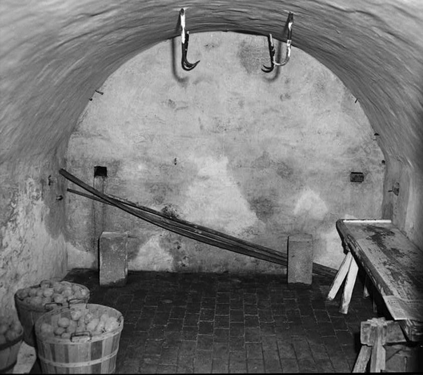 Root Cellar circa 1940, Courtesy of the Library of Congress