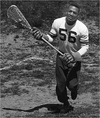 Syracuse Lacrosse All American and Hall of Famer Jim Brown