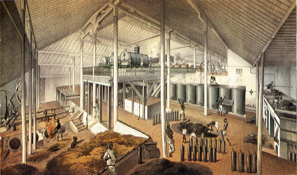 Sugar Factory, Plantation Asuncion, Cuba, 1857. Courtesy of Virginia Humanities and University of Virginia