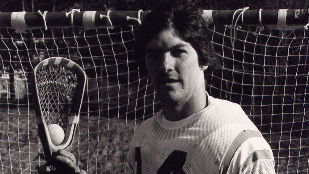 Brooks Sweet as a Umass player circa 1975, Courtesy of University of Massachusetts