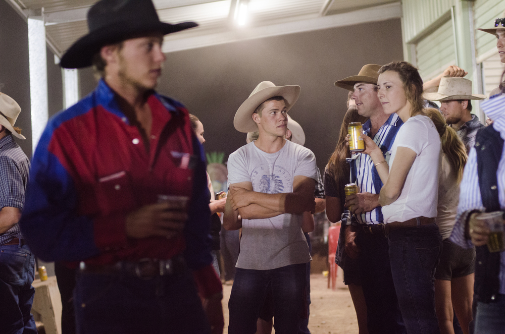 With a population of 188 the town makes rodeo one of their main attractions during the year.