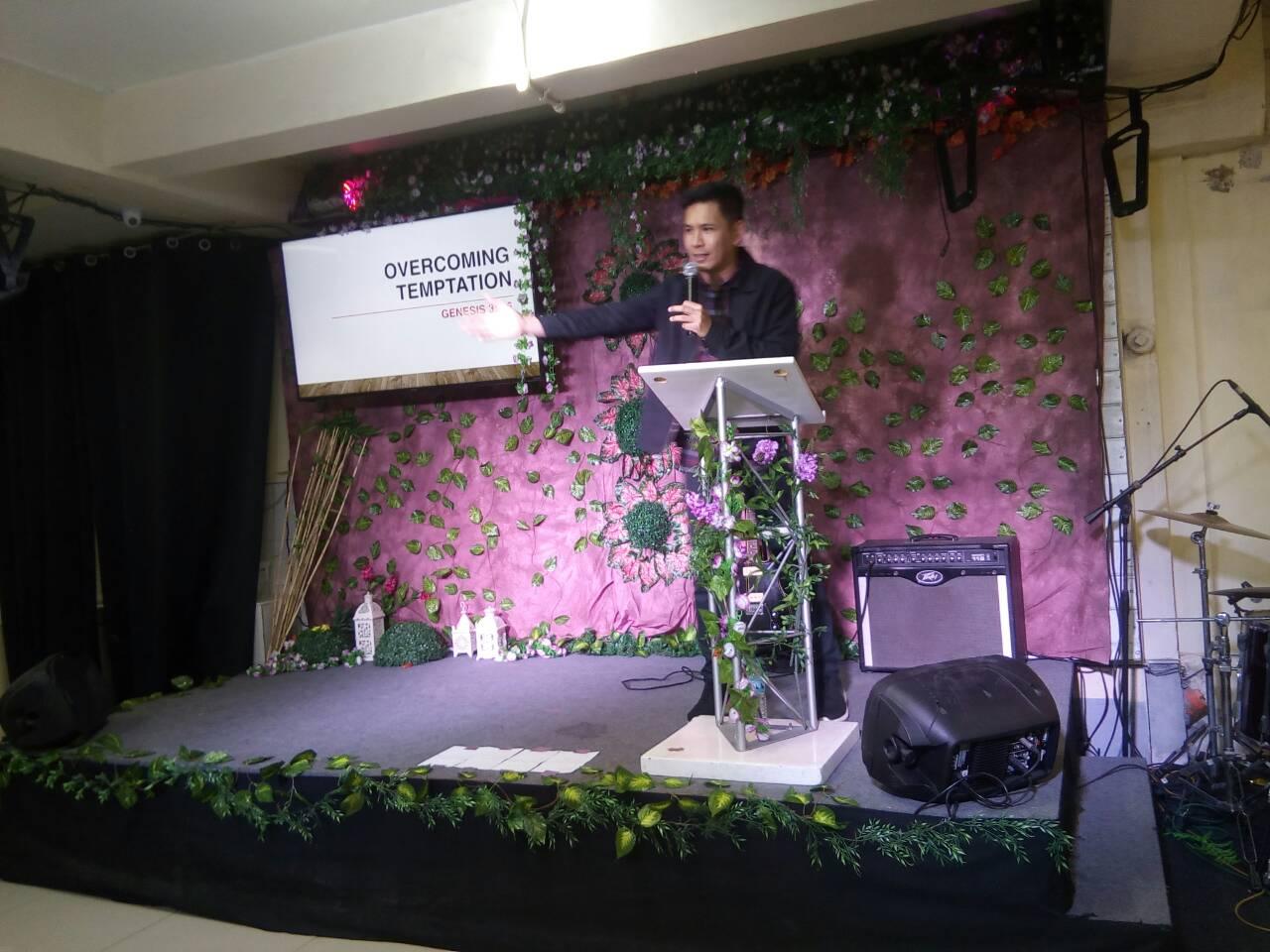 Overcoming Temptation By Pastor Ogie Cayabyab