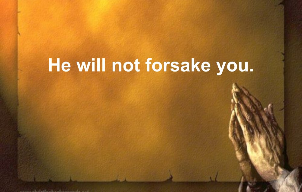 HE WILL NOT FORSAKE YOU.jpg