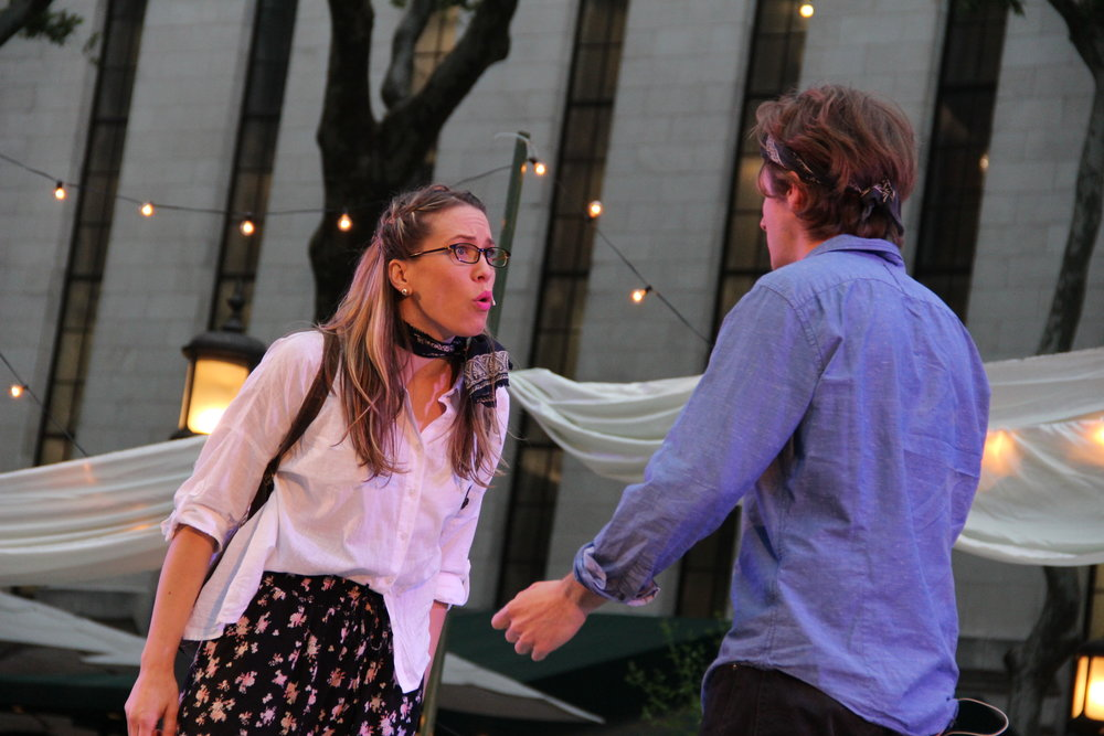 Helena in A Midsummer Night's Dream (Bryant Park Shakespeare)
