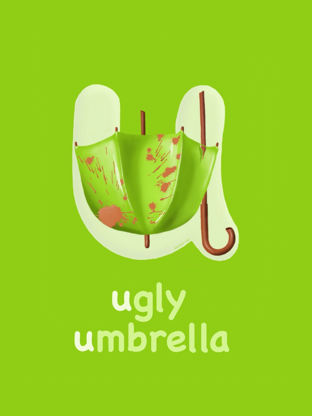 Letter U - Ugly Umbrella