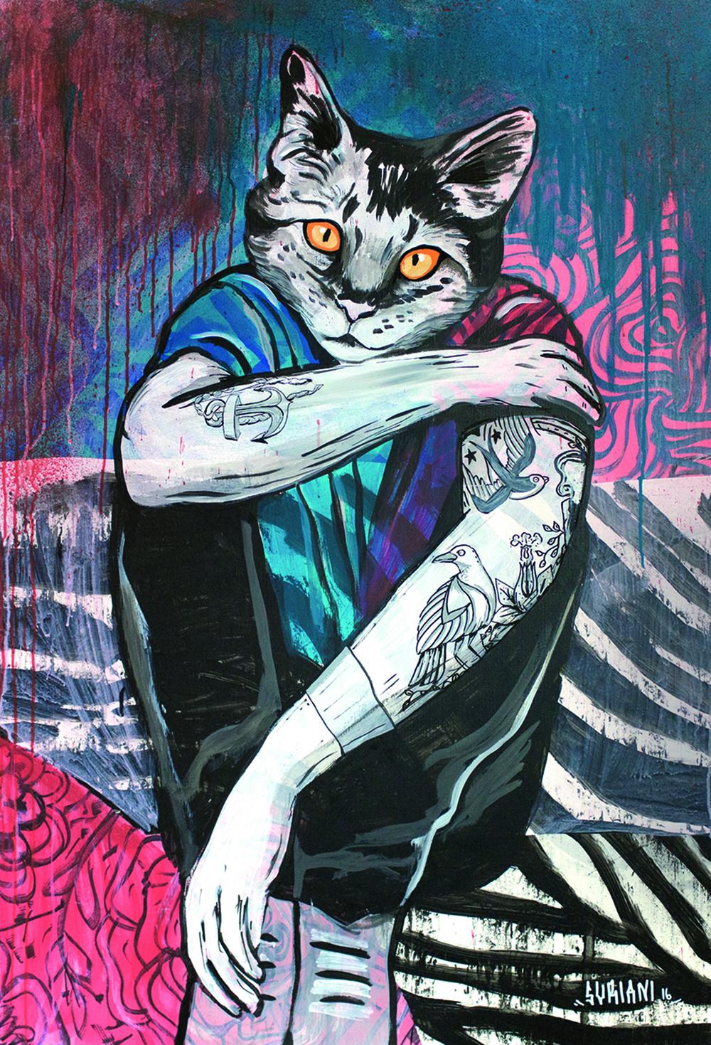Suriani's canvas