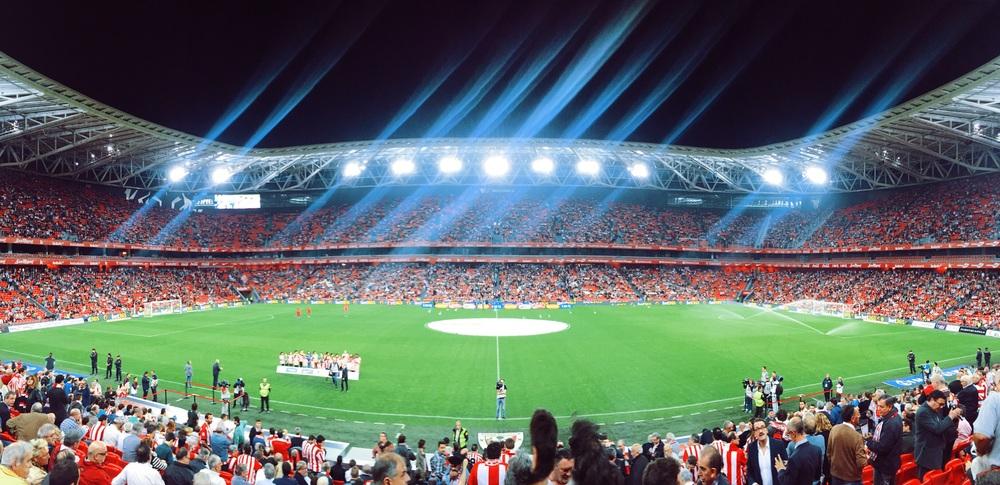 San Mamés Stadium.