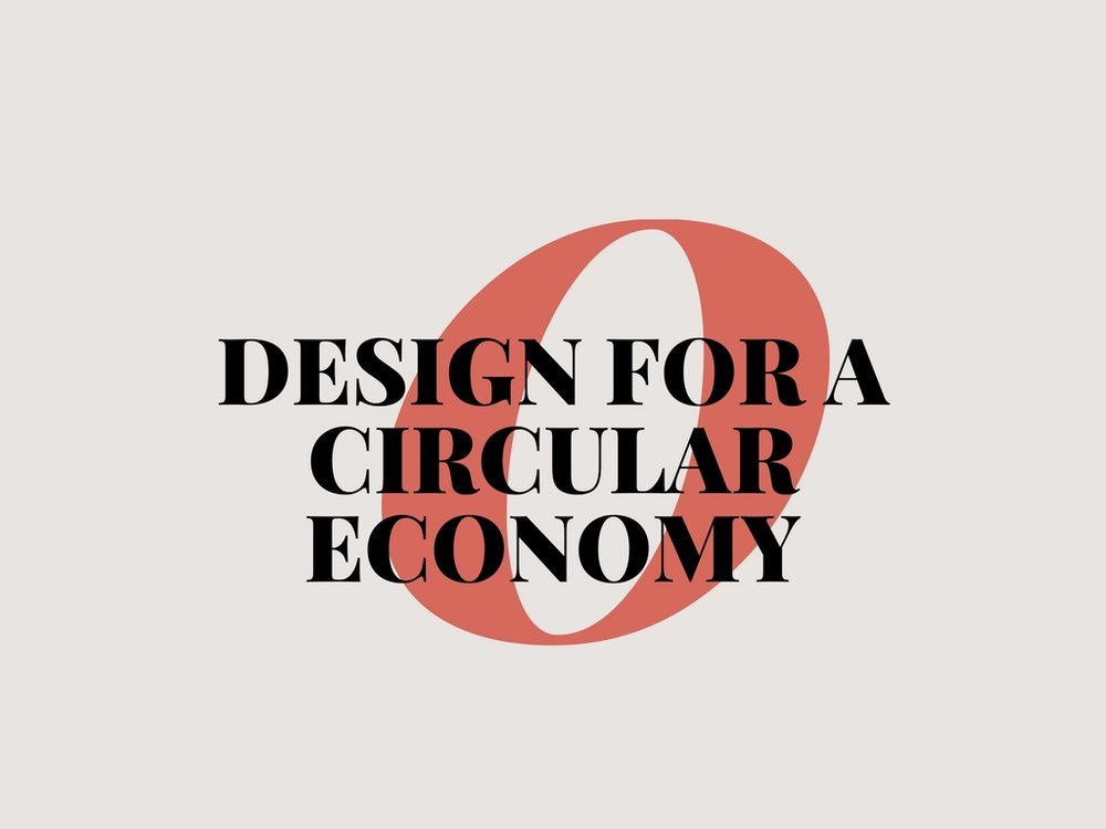 Lecture: Design for a circular economy in fashion & textiles.