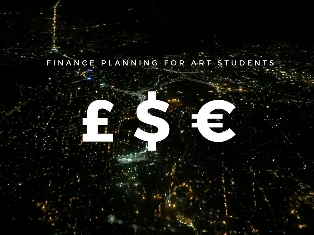 Financial sustainability for art students.
