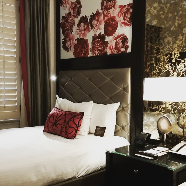New guestroom at Villa Florence San Francisco. #hoteldesign #sanfrancisco #design