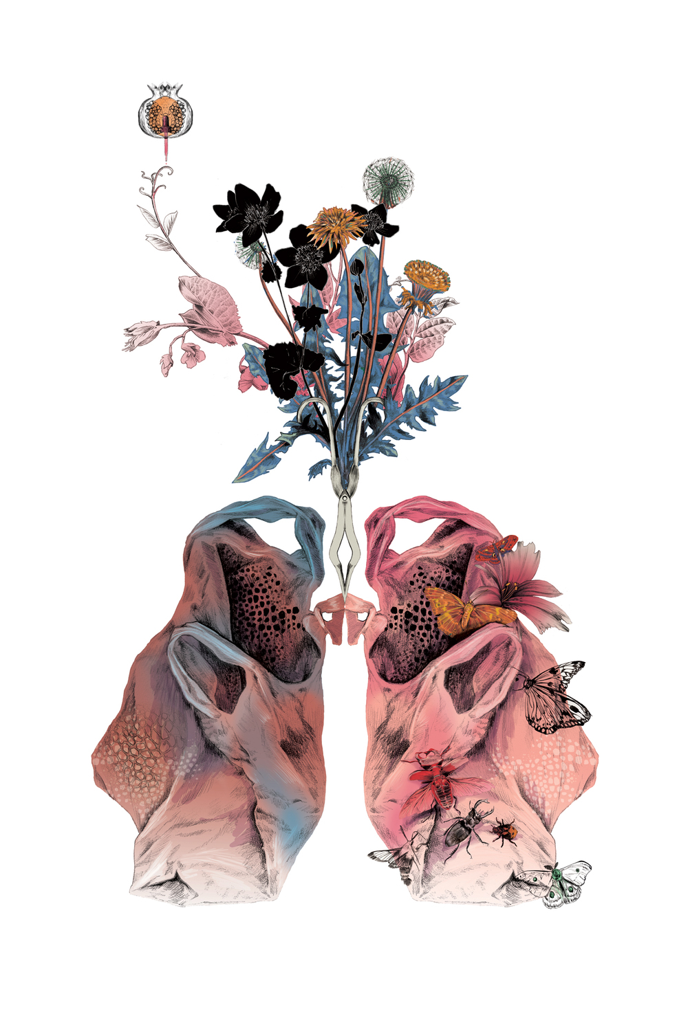 fig. 1. Lungs artwork