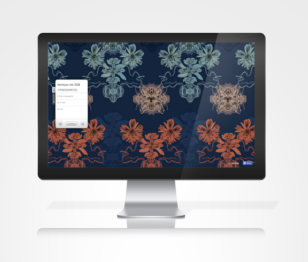 fig 2.  WeTransfer wallpaper