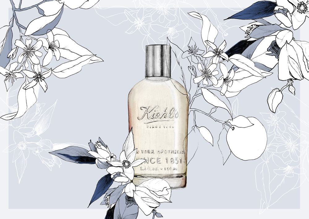 fig.5 Kiehls - Orange flower & lychee
