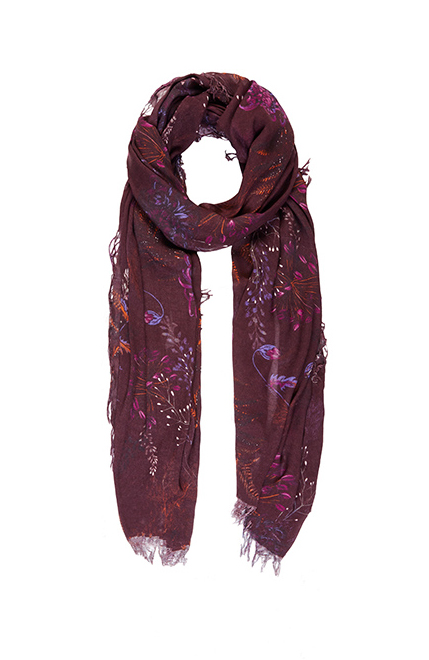 Fig. 8. Aubergine Scarf