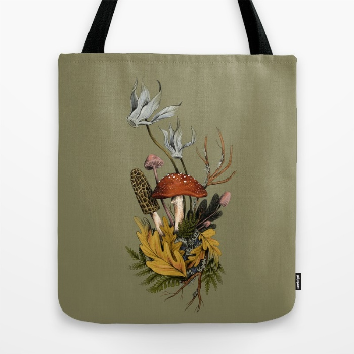 fig. 3.  Tote bag,, find it at   Society6