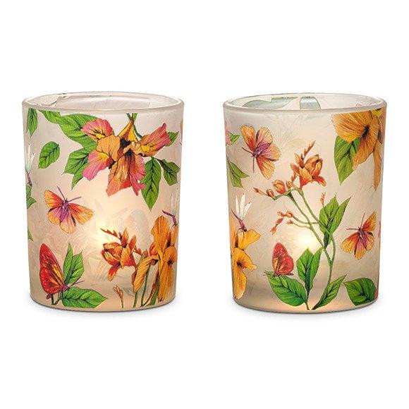fig 4. Afternoon Breeze tea light holder