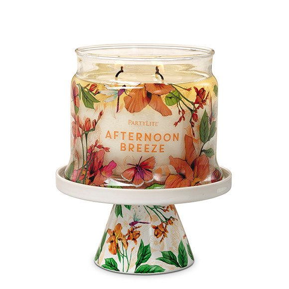 fig 5. Afternoon Breeze pedestal jar holder