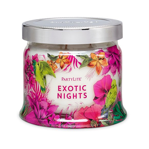 fig 3. Exotic Nights candle