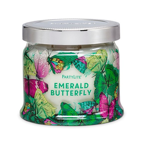 fig. 8. Emerald Butterfly candle