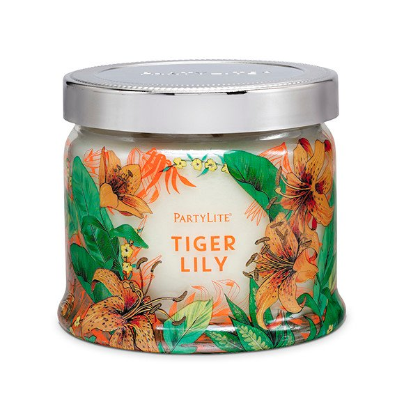 fig. 14. Tiger Lily candle