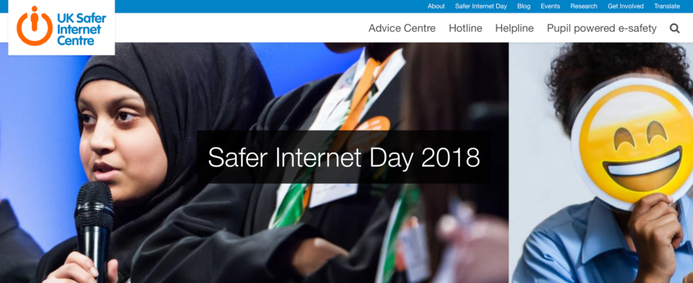 Visit the Official Safer Internet Day 2018 website  . There are lots of resources to download and use, including teacher packs to use in assemblies / classrooms.
