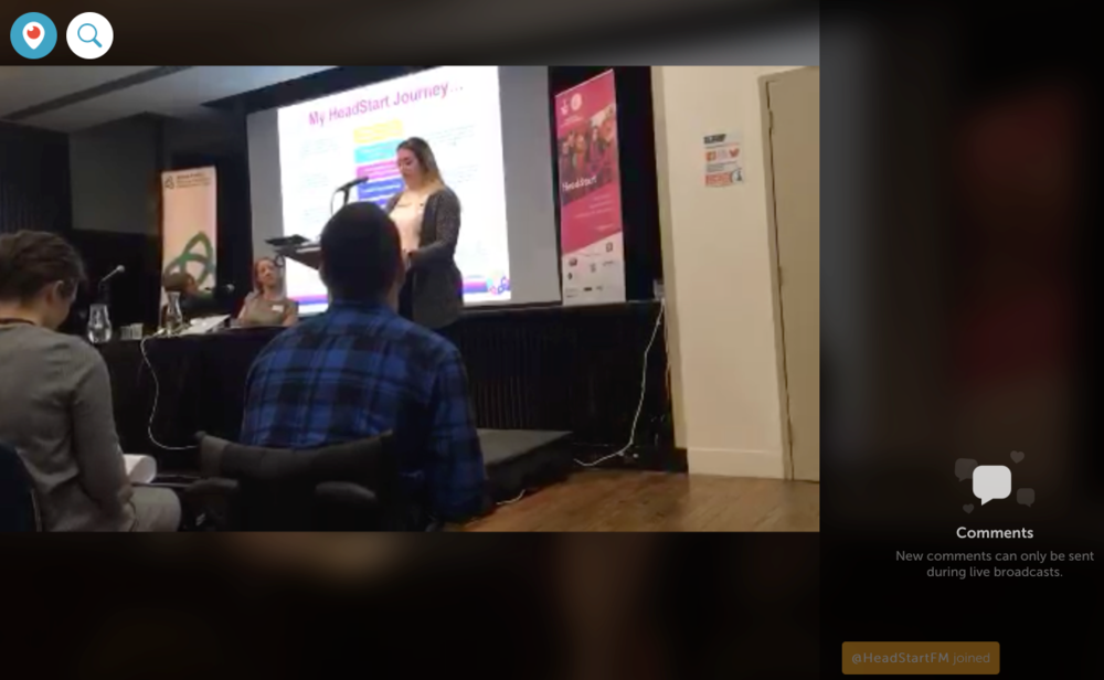 Click here:  Fran on stage at the #HeadStartLearning conference (Periscope link)